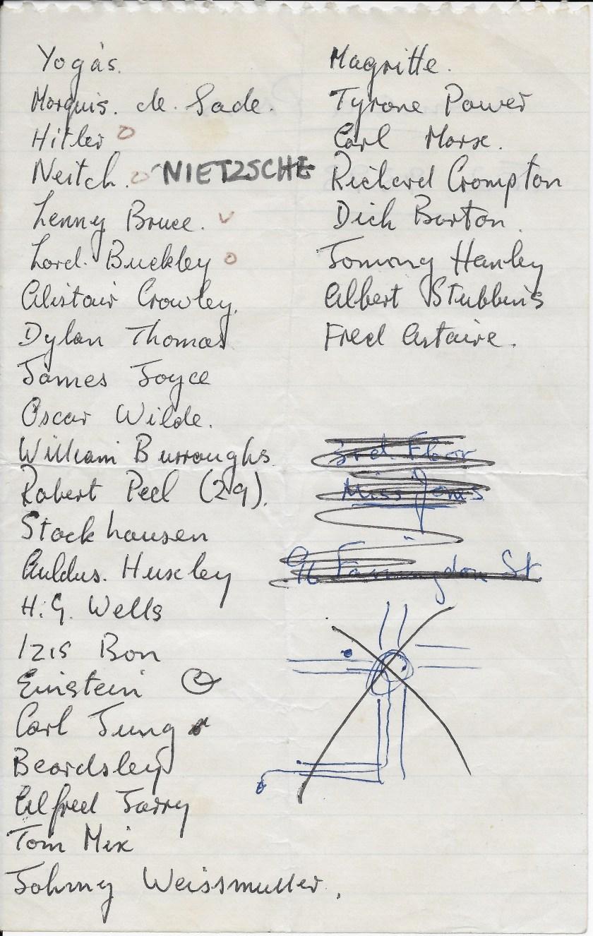 Sgt Pepper cast list copy